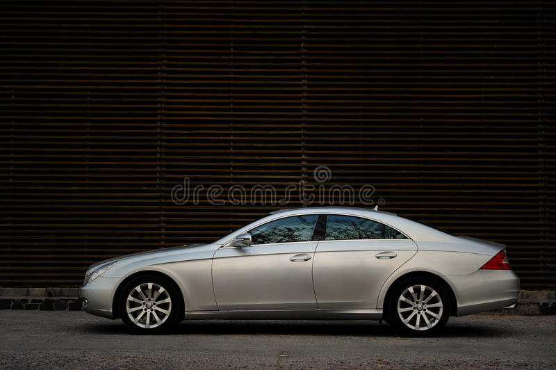 benz cls Mercedes obrazy royalty free