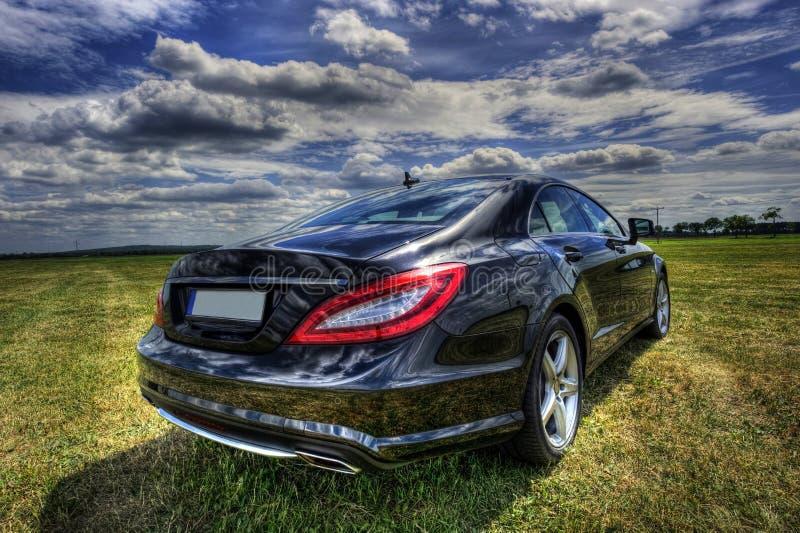 benz cls Mercedes zdjęcie royalty free