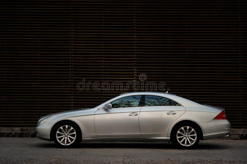 Benz CLS van Mercedes royalty-vrije stock afbeeldingen