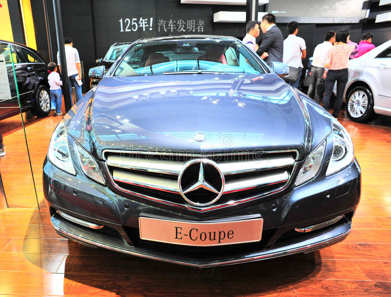 Download Benz e-coupe editorial stock photo. Image of fast, china - 21396263