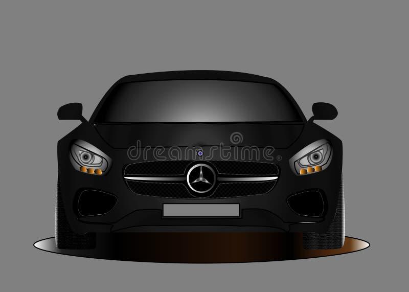Benz samochód obrazy stock