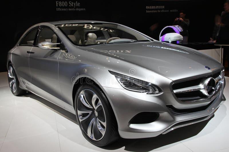 benz samochód f800 Mercedes projektuje obraz stock