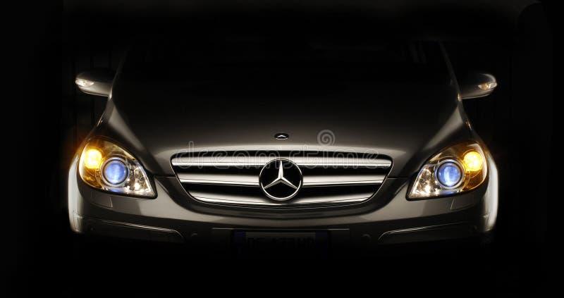 Benz van Mercedes. stock afbeeldingen