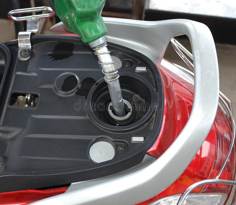 Benzyna zbiornik fotografia stock