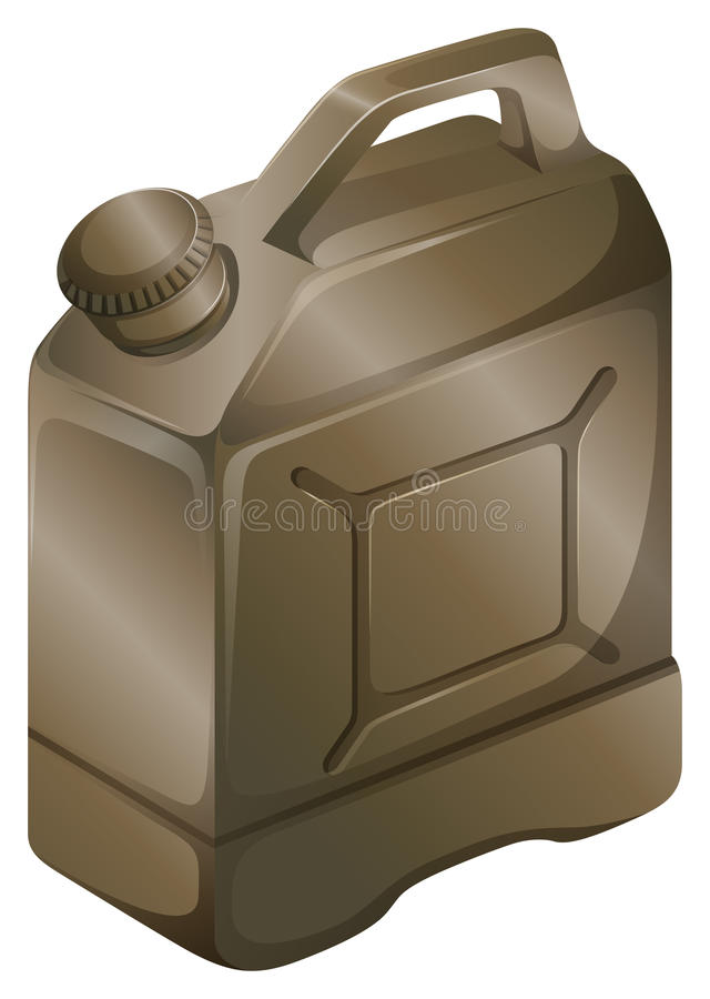 Benzynowa butla ilustracji