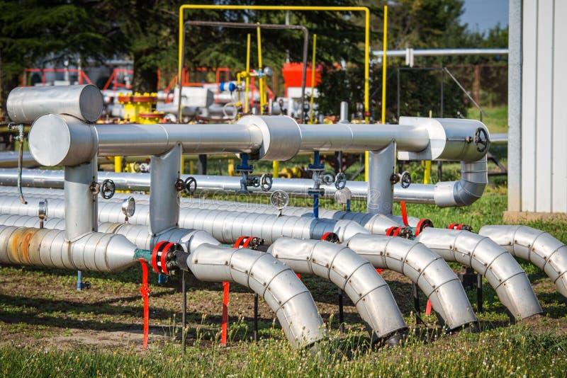 Benzynowa klapa dla oleju zdjęcie stock