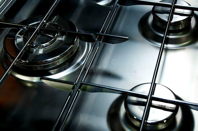 Benzynowa kuchenka obrazy royalty free