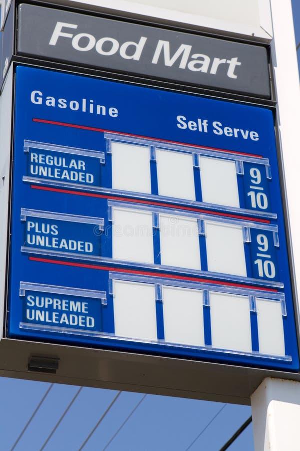 benzynowa markiza zdjęcia stock