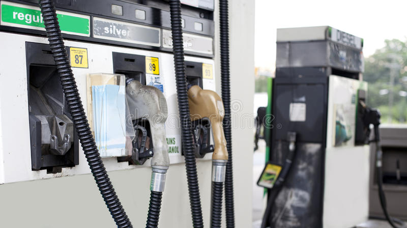 Benzynowa pompa obraz royalty free
