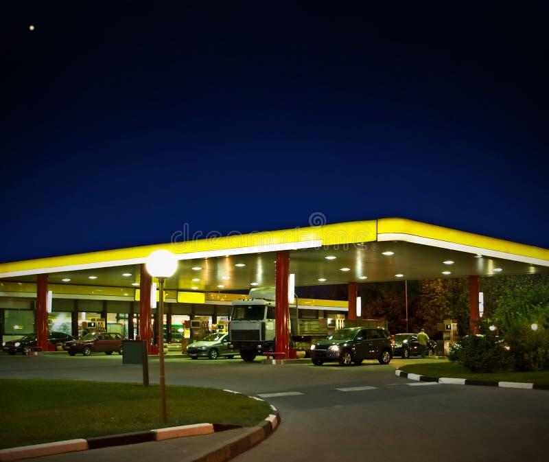 benzynowa stacja obrazy stock