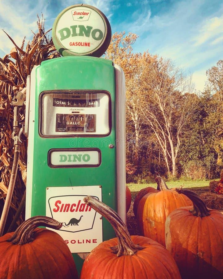 Benzynowa stacja lub - OHIO obraz stock