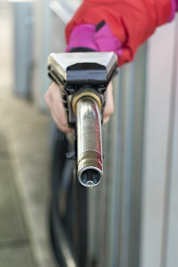 Benzynowej pompy Nozzle obrazy stock
