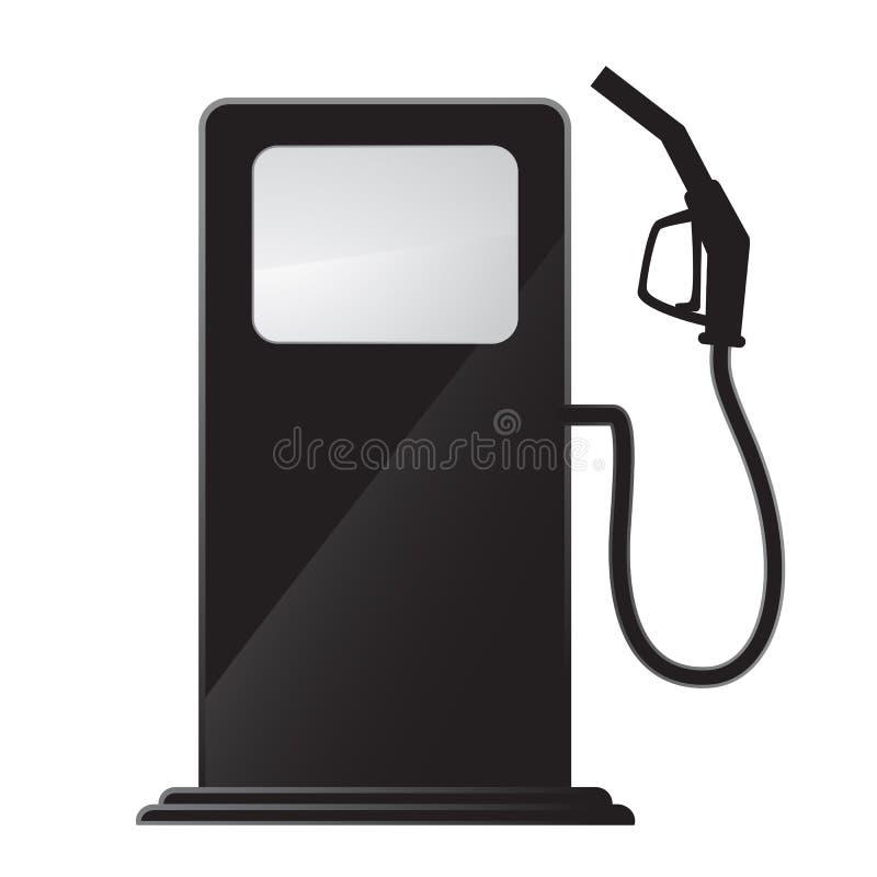 Benzynowej staci ikona royalty ilustracja