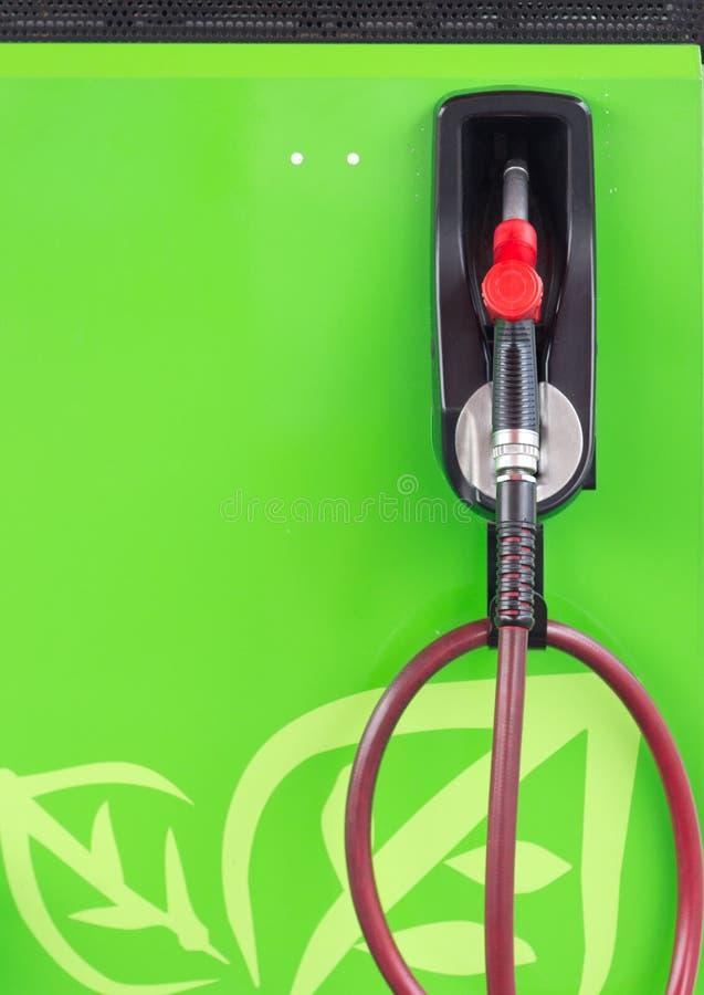 Benzynowi pompowi nozzles zdjęcia royalty free