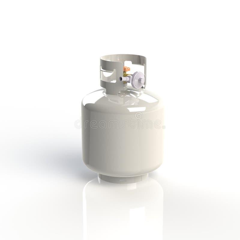 benzynowi zbiorniki ilustracja wektor