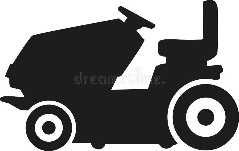 Benzynowy gazonu kosiarz ilustracja wektor