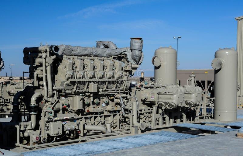 Benzynowy kompresor obrazy royalty free