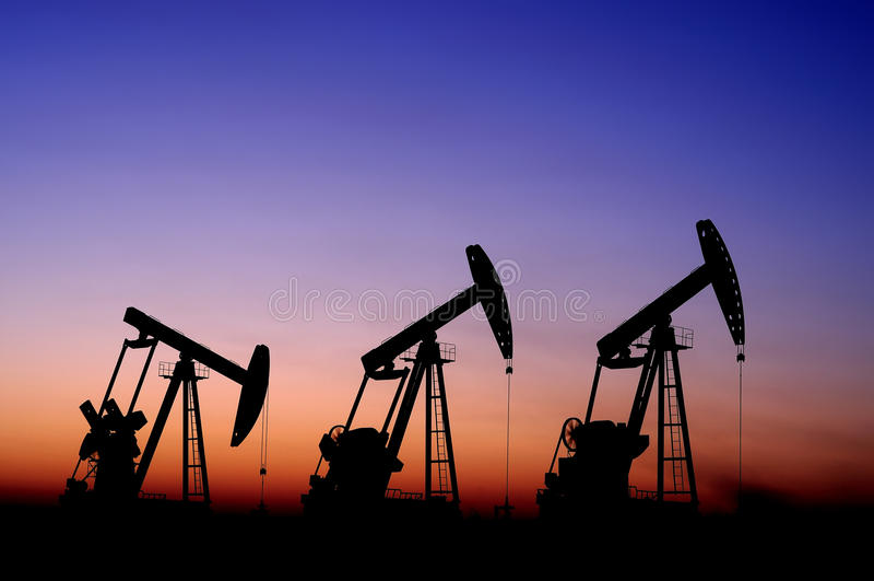 benzynowy olej zdjęcia stock