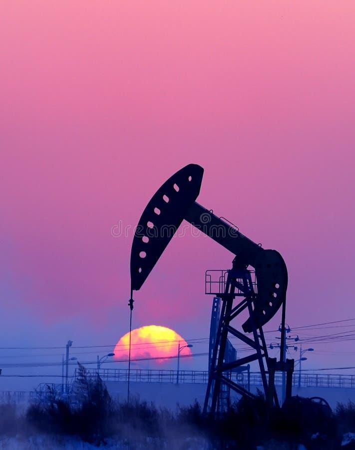benzynowy olej fotografia royalty free