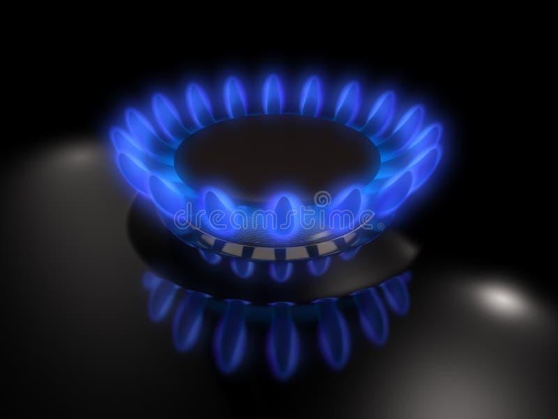 Benzynowy palnik ilustracja wektor