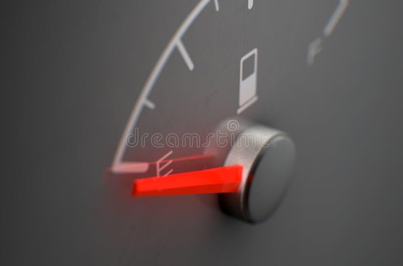Benzyny Gage Pusty ilustracji