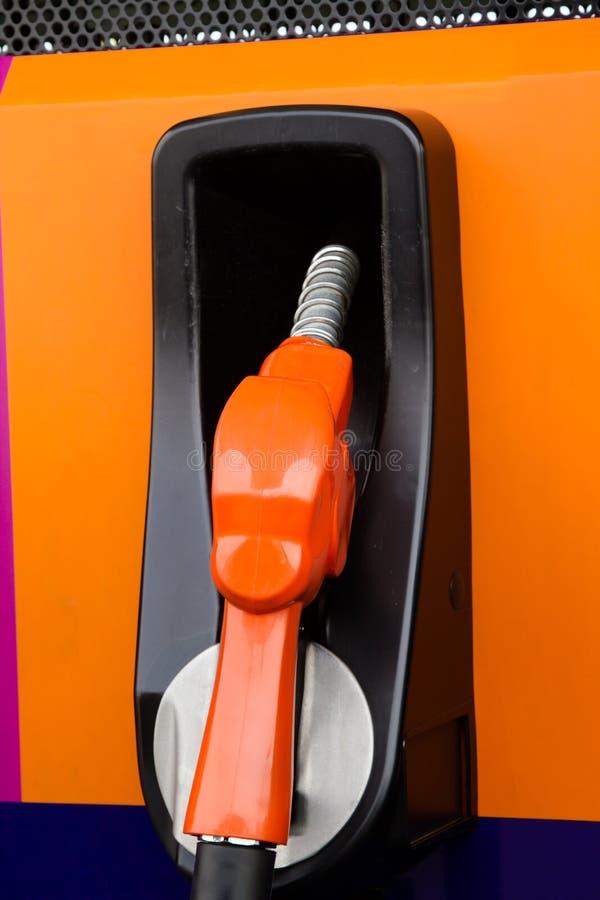 Benzyny pompy nozzles fotografia stock