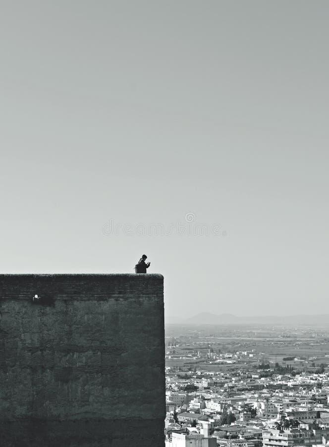 Beobachten von Granada stockfotografie