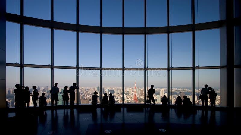 Beobachten von Tokyo stockbild