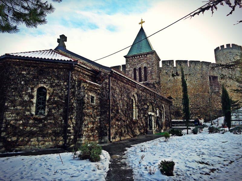 Beograd城堡 库存照片