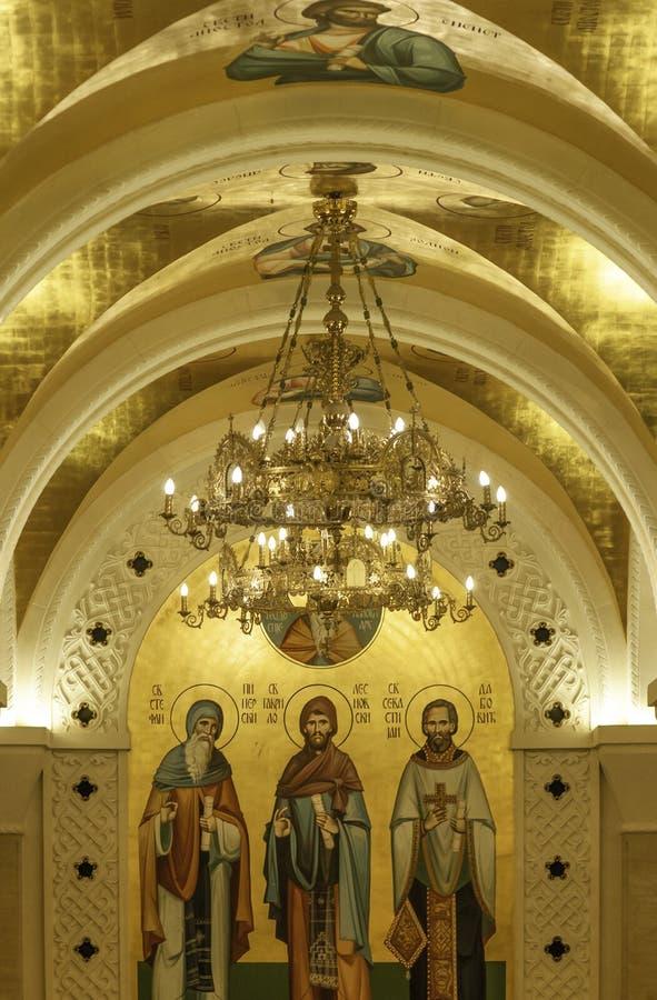 Beograd, Serbia, 15 dicembre 2019 - chiesa di Santa Sava fotografie stock