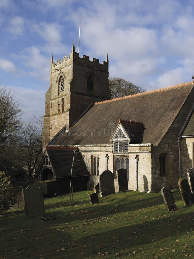 beoley kościół zdjęcie royalty free