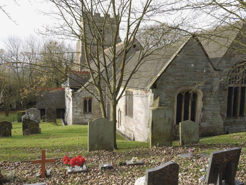 beoley kościół fotografia stock