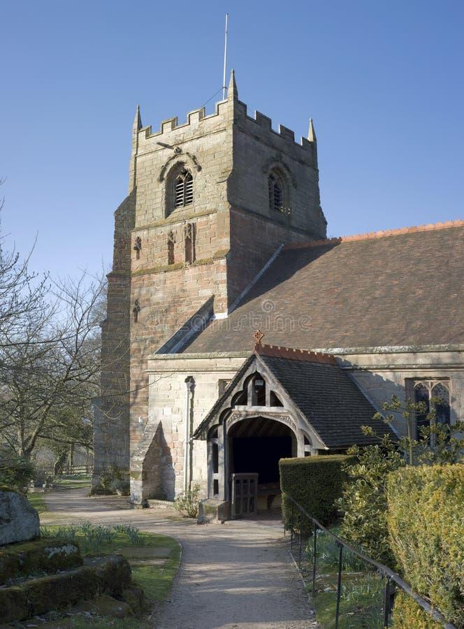 beoley kościoła obrazy stock