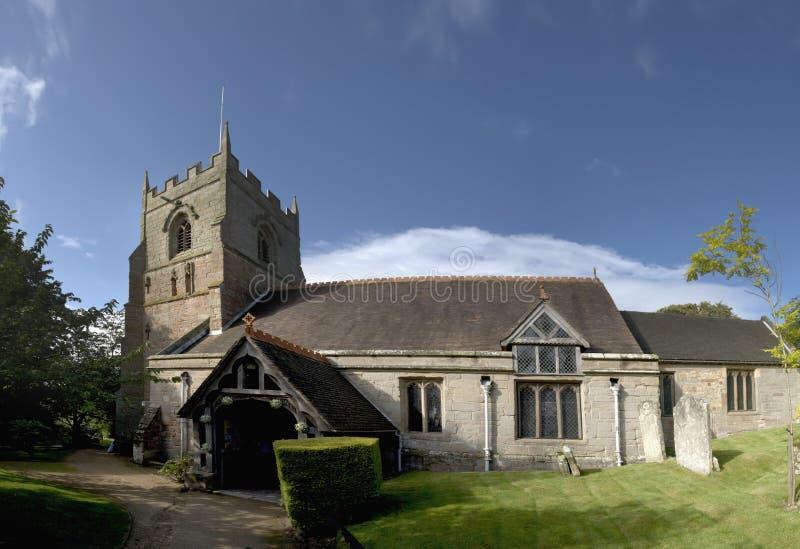 beoley kościoła zdjęcia royalty free
