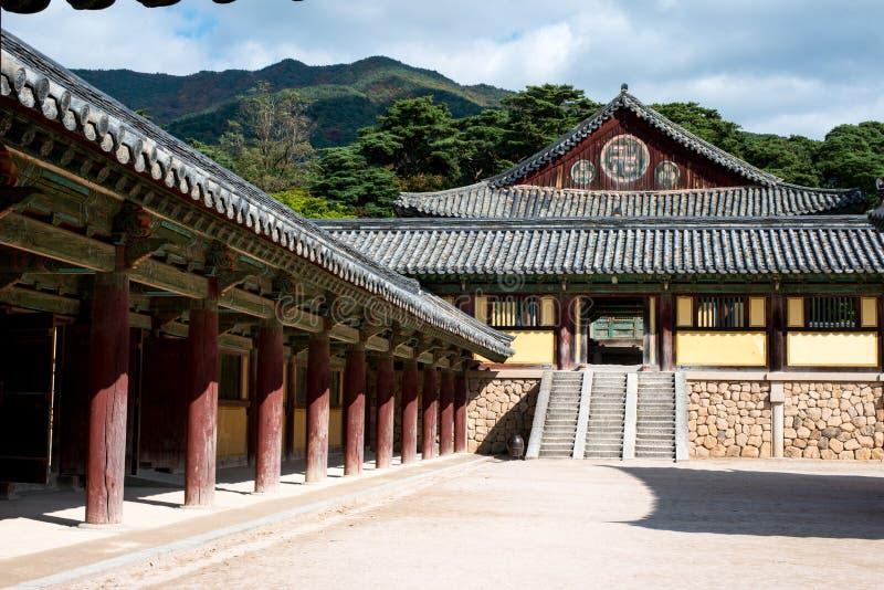 Beomeosa - Tempels van Korea royalty-vrije stock foto
