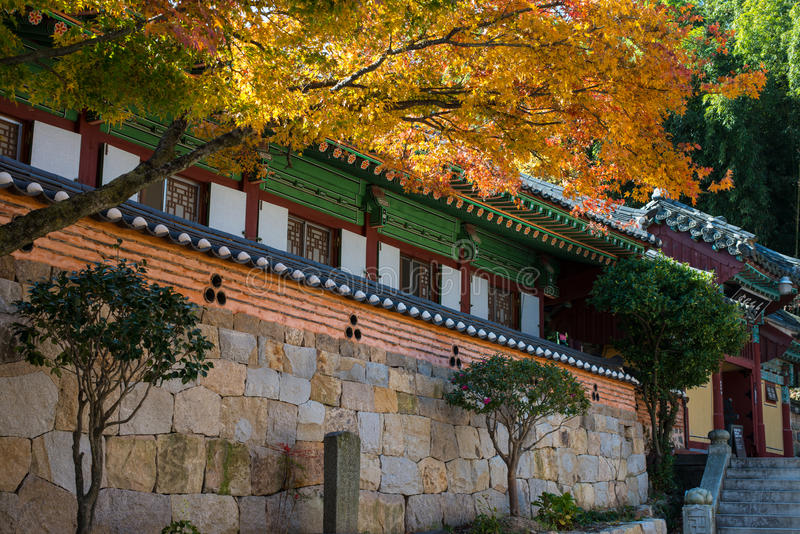Beomeosatempel van Korea royalty-vrije stock fotografie