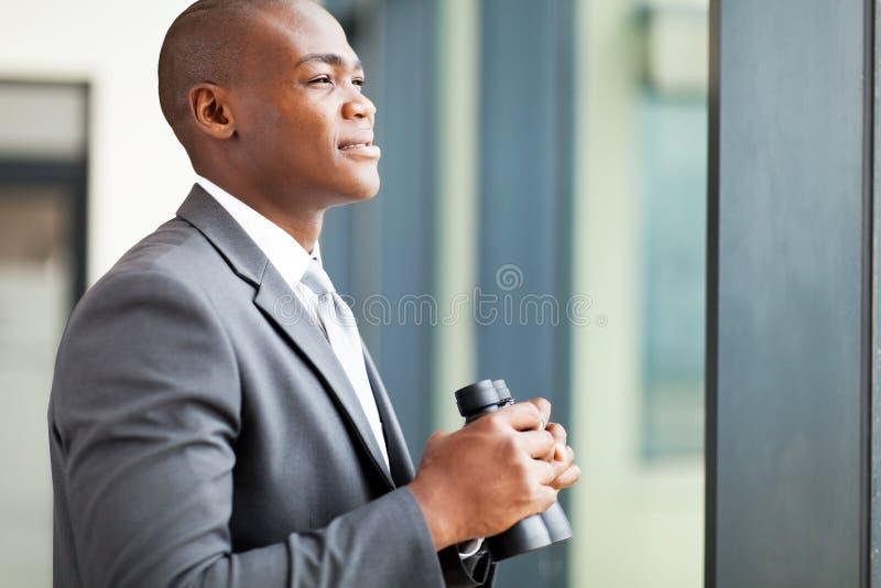 Bepaalde Afrikaanse zakenman royalty-vrije stock foto