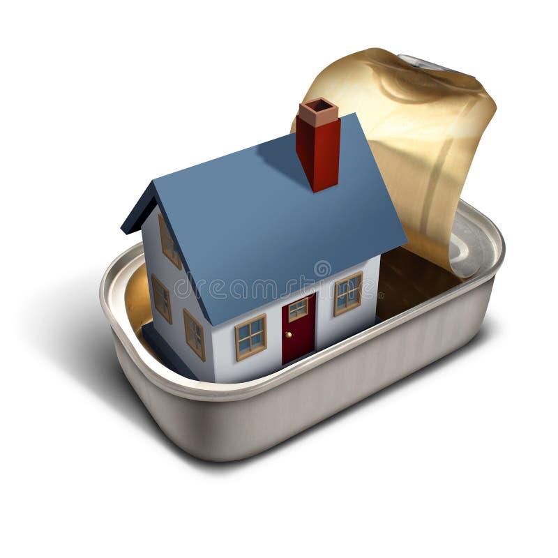 Beperkt Huis vector illustratie