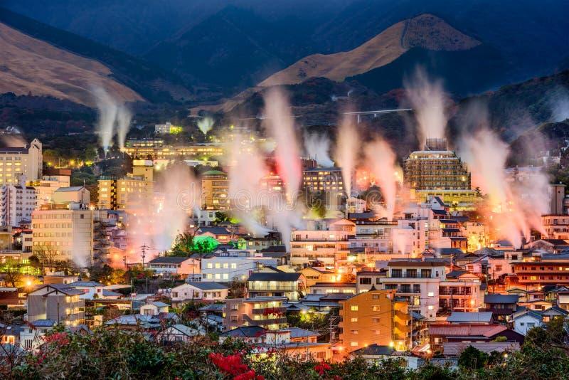 Beppu, Japão Onsens imagens de stock