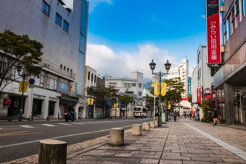 Beppu Street royalty free stock photo