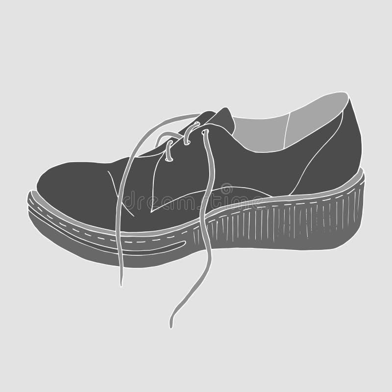 Bequemer Schuh für Männer und Frauen in der Unisexart lizenzfreies stockfoto