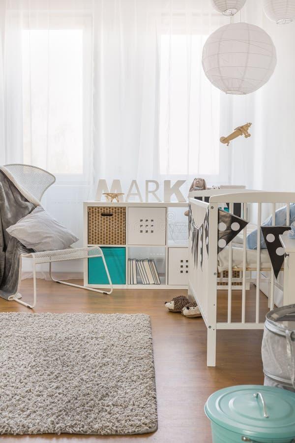 Berçário para o bebê fotografia de stock