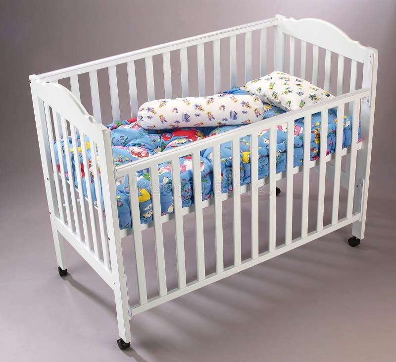 Berço de bebê imagens de stock royalty free