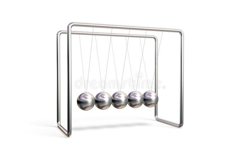 Berço De Newton Imagens de Stock