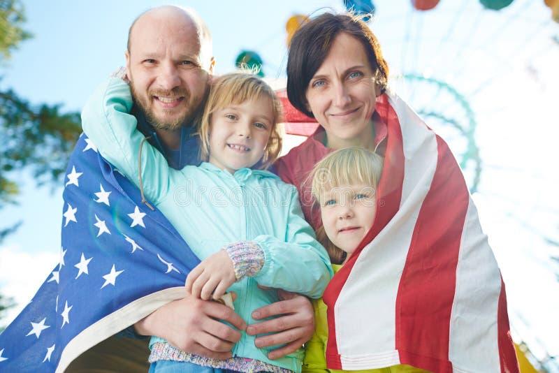 Beröm av självständighetsdagen royaltyfria foton