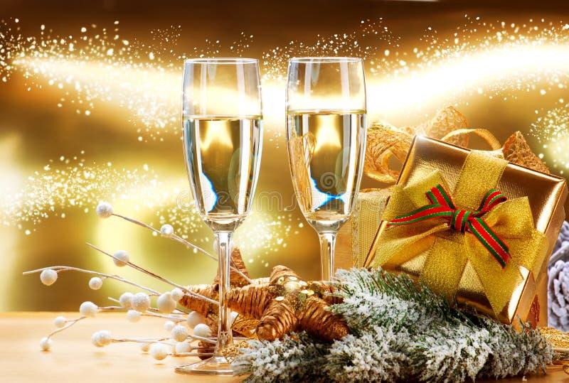 Beröm för nytt år och jul fotografering för bildbyråer