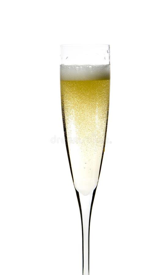 berömchampagneexponeringsglas royaltyfri foto