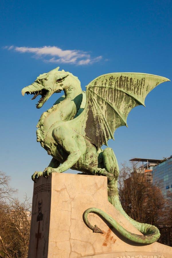 Download Berömd Drakebro I Ljubljana Fotografering för Bildbyråer - Bild av angus, kull: 27280793