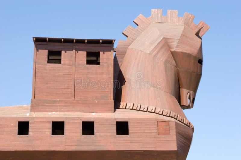 berömd hästtrojan royaltyfri foto