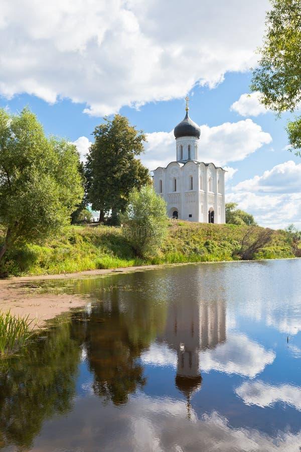 Berömd kyrka för ryss arkivfoto